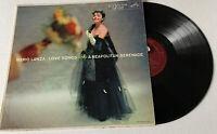 Mario Lanza: Love Songs And A Neapolitan Serenade RCA LP Music Record