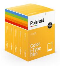 Polaroid Color i-Type 5er Pack mit 40 Aufnahmen Sofortbild Film NEU