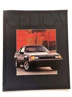 1983 Toyota Celica and GT GT-S GTS 24-page Original Car Sales Brochure Catalog