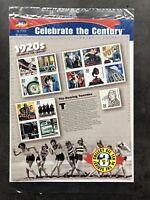 USA Briefmarken Bogen 15x 32 Cent 1998 Celebrate the Century 1920s Stamp Sheet