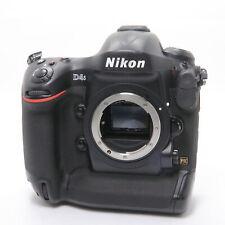 Nikon D4S Body shutter count 3728 shots