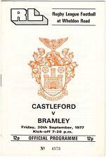 Castleford v Bramley 1977/8 (30 Sep)