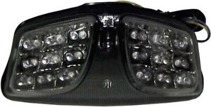 Smoke Integrated LED Tail Light DMP 905-5329D For 09-16 GSXR1000