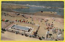 cpsm 14 - CABOURG (Calvados) La PLAGE en 1957 Piscine jeux