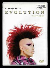 """DEAD OR ALIVE """" EVOLUTION - THE VIDEOS """" - RARO DVD FUORI CATALOGO - COME NUOVO"""