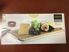 NEW Taste Acacia Serving Platter Wood Porcelain Board Presentation Canape Cheese