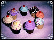 ** ~ cupcake bracelet ~ fait main rétro fimo perle mignon ~ **