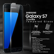 2X Gorilla Shield Tempered Glass Film Screen Protector for Galaxy S7