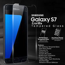 2X Original Gorilla Escudo Película protectora de pantalla de vidrio templado para Galaxy S7