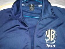 WB Warner Bros Sport Studio Store Blue Zip Windbreaker Jacket Men's Small used