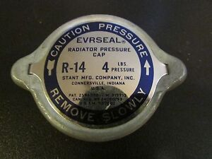NOS Evrseal R-14 4lb Radiator Cap Made by Stant Mfg.
