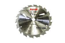 """Riptide 7-1/4"""" Saw Blade 5/8"""" Arbor Hole, 18 Tooth, 8300RPM Max, Carbide Tipped"""