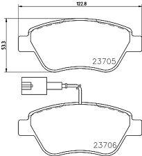 Mintex Front Brake Pad Set MDB3193  - BRAND NEW - GENUINE - 5 YEAR WARRANTY