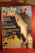 PECHE EN MER N° 197 DECEMBRE 2001  Toutes les techniques de  pêches en eau salée