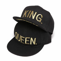 Snapback Hip Hop Queen King Embroidered Cap Hats Baseball Hat Fashion Lovers Hot