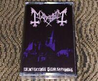MAYHEM de Mysteriis dom Sathanas. BRAND NEW & SEALED Cassette Tape Very Rare