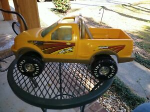 """Nylint Ford F150 Yellow Truck Car Large 15"""" Long  4x4"""