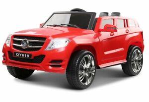Suv X-Land, 2 Motoren, 2 Akkus Kinderauto Kinderfahrzeug Elektroauto rot