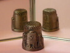 Pewter UK & Ireland Collectable China Sewing Thimbles