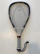 "New listing Head Ti175 Xl Titanium Racquetball Racquet 3 5/8"" Grip Racket"