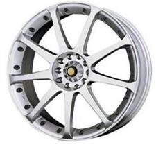 ENKEI Wheel & Cap 29456502SP Size15X6.5J Silver Aluminum New 10 Bolt