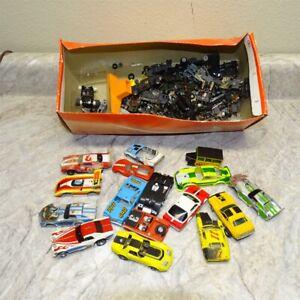 Large Lot Vintage HO Scale Slot Cars, Bodies, Chassis, & Miscellaneous Items KC1