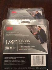 3M 06385 1/4 x 0.76 mm Nameplate Repair Tape, Gray 2pks