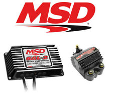 MSD Ignition Kit 65303 Digital Programmable 6AL-2 Ignition Box & Blaster SS Coil