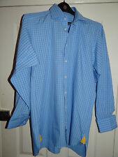 Aquascutum Cotton Regular Double Cuff Formal Shirts for Men