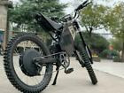 72V 3000W Bluetooth Enabled Adult Electric Off-road Dirt Bike Motorcycle +