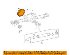 FORD OEM Axle Housing-Rear Suspension-Cover Assembly 4W1Z4033BA