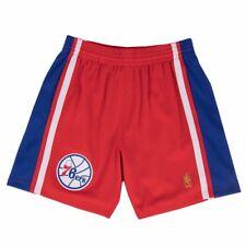 1996-97 Philadelphia 76ers Mitchell & Ness Road Rojo THROWBACK SWINGMAN para hombre