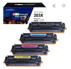 COMPATIBLE 4 TONER PACK/SET HP203X M254/M280/M281  (CF540X/CF541X/CF542X/CF543X)