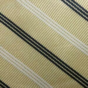 Bow Tie Men Silk YELLOW Stripes SELF TIE Bowtie