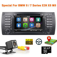 For BMW 5 Series E39 M5 530i 540i Car DVD Player GPS Nav Radio Stereo BT Canbus
