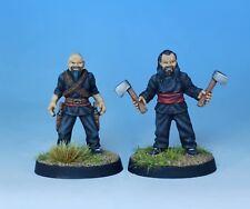 Pulp Alley --  Fang's Hatchetmen #1 28mm Miniatures Pack