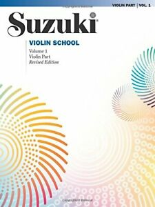 Suzuki Violin School Violin Part Vol 1 by Dr Shinichi Suzuki Book The Fast Free
