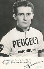 Carte Peugeot de Jean Dumont 1968