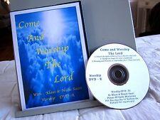 KLAUS & NICOLE SAARI Come & Worship the Lord live DVD accordion Canada