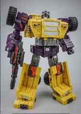 Toyworld Transformers Constructcons G2 Yellow Long Haul Ver.New