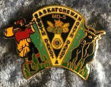 Lions Club Lapel Pin MD5 Saskatchewan North/South Dakota 1993