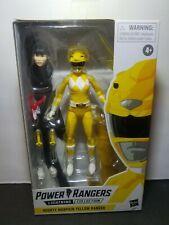 Hasbro Power Rangers Lightning Collection Mighty Morphin Yellow Ranger