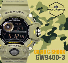 Casio G-Shock Master of G Rangeman Wave Ceptor Watch GW9400-3D AU FAST & FREE*