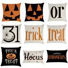 Halloween Pillow Cases Fall Sofa Pumpkin Throw Cushion Cover Thanksgiving Home