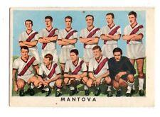 FIGURINA CARTONATA  CALCIATORI  RASA  1961-62  SQUADRA  DEL  MANTOVA