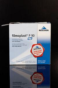 FILMOPLAST P90  PLUS - THIN white archival book repair tape 2cm x 50m