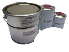 3,5 LITRE Set 2K Phosphate de zinc-époxy couche primaire Stylo à encre Blanc