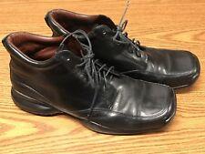 Kenneth Cole Men's Sneak A Peek Black Leather Casual Fashion Boots Sz 9.5 RARE