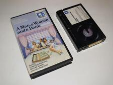 Betamax Video ~ A Man, a Woman and a Bank ~ Donald Sutherland ~ Pre-Cert~Embassy