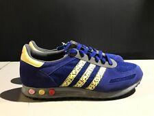 adidas la trainer okini men's 12.5 new with box blue yellow
